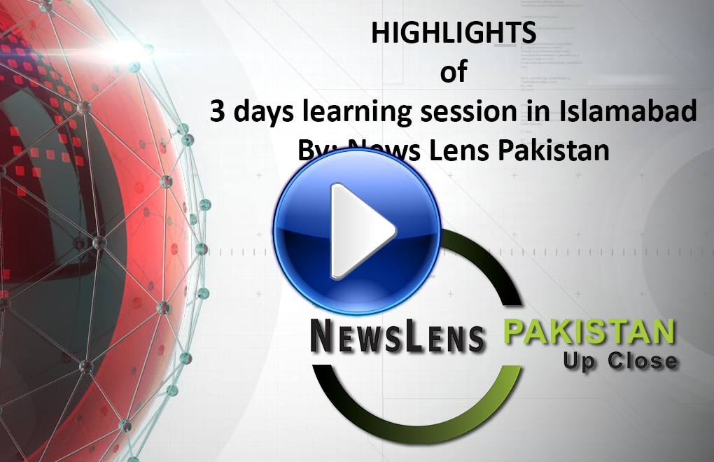 Highlights of 3 Days Learning Session for Female Journalists in Islamabad