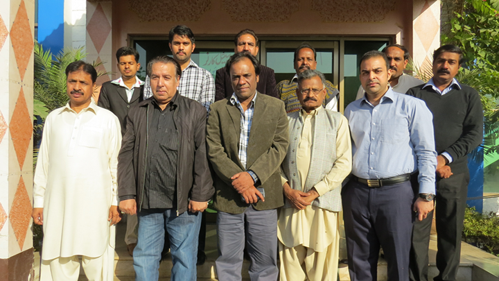 "Training Session For Journalists in Kasur on ""News Quality and News Value"""